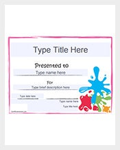 Blank Gift Certificate Template  Blank Gift Vouchers Templates Free