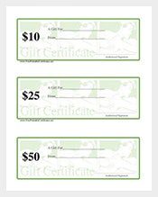 138+ Gift Certificate Templates – Free Sample, Example, Format ...