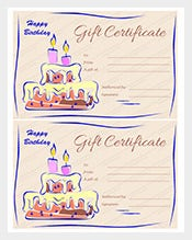 therapy gift certificate template