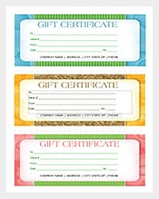 Free Word Format Business Gift Certificate Template Download  Free Business Certificate Templates
