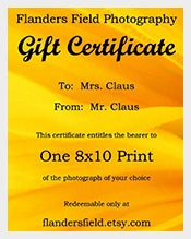 155 gift certificate templates free sample example format