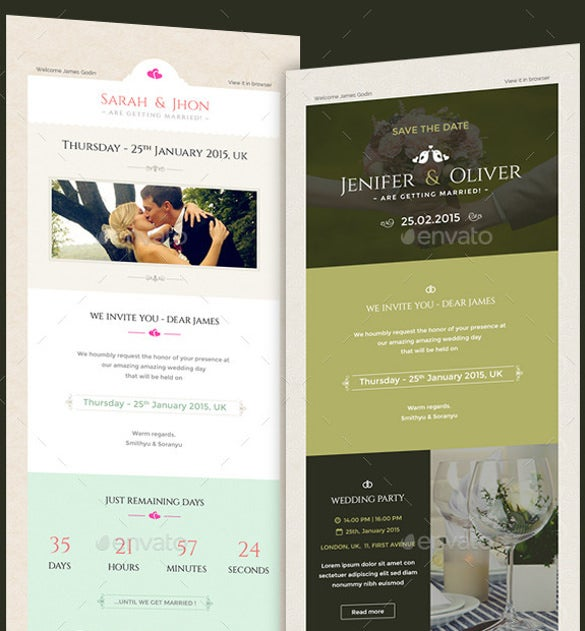 14+ Email Invitation Templates - Free, Sample, Example, Format