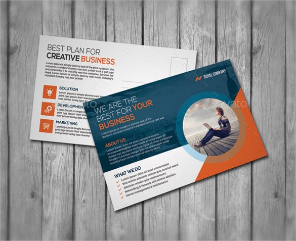 postcard template 4x6 for corporate business