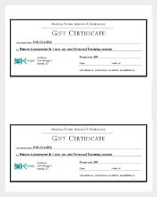 Free gift certificate templates | 45+ gift certificates examples.