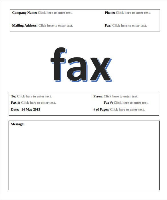 Examples Of Fax Cover Sheets. Comcontemporary Fax Coversheet