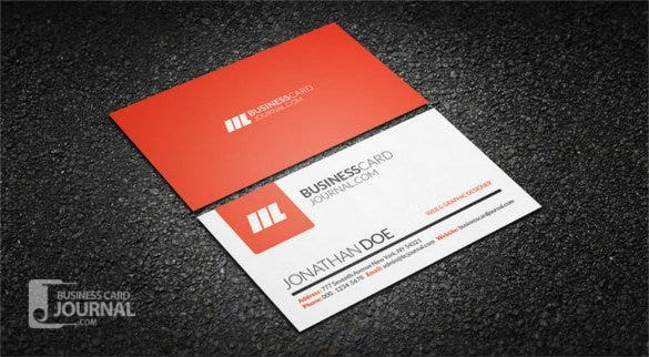 Free Business Cards Free Download Free Premium Templates - Free business card template