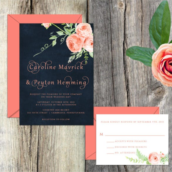 17+ modern wedding invitation templates – free sample, example, Wedding invitations