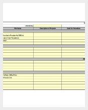 Retail Software Inventory Worksheet Template Excel Download