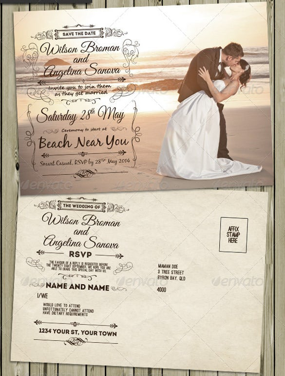 This Vintage Wedding Invitation And Rsvp Card Online Create An Awesome For Your You Can Easily Edit