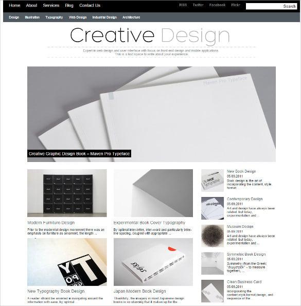 premium responsive creative wordpress theme