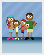 Family-Four-PowerPoint-Template