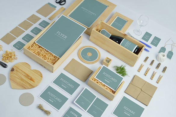 wedding invitation branding mock ups