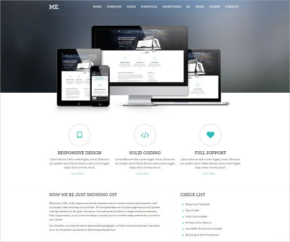 multipurpose creative joomla template