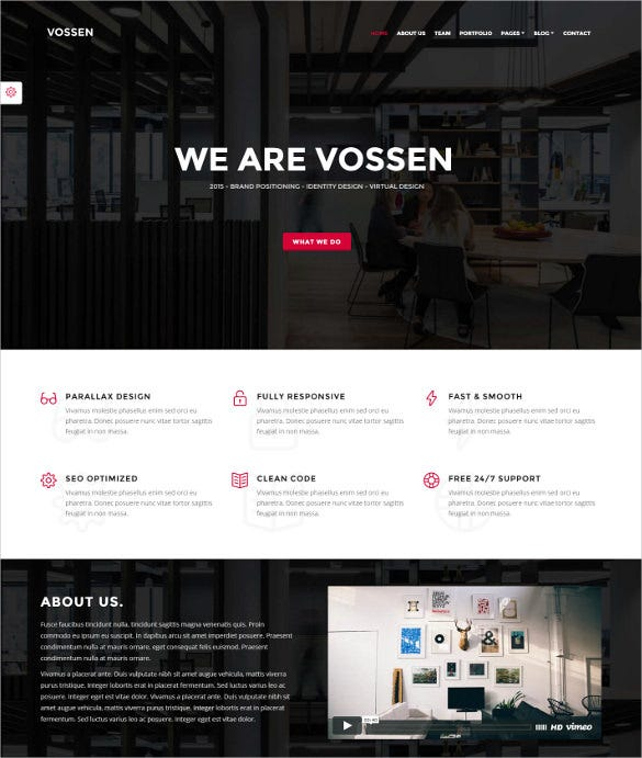 parallax multipurpose joomla creative template