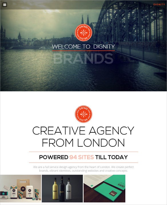 portfolio creative responsive joomla template