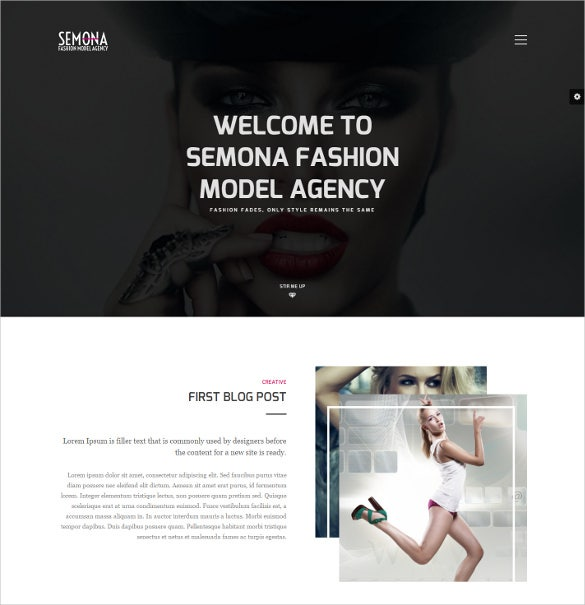 free creative fashion joomla theme