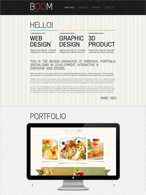 creative design studio drupal template