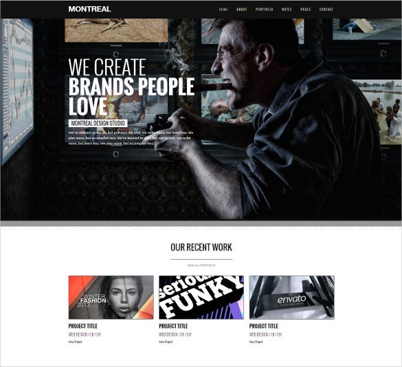 responsive creative drupal theme
