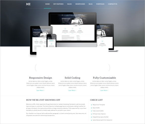 multipurpose creative drupal template