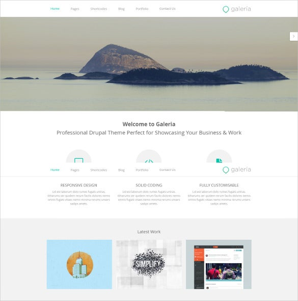 responsive creative agency drupal theme