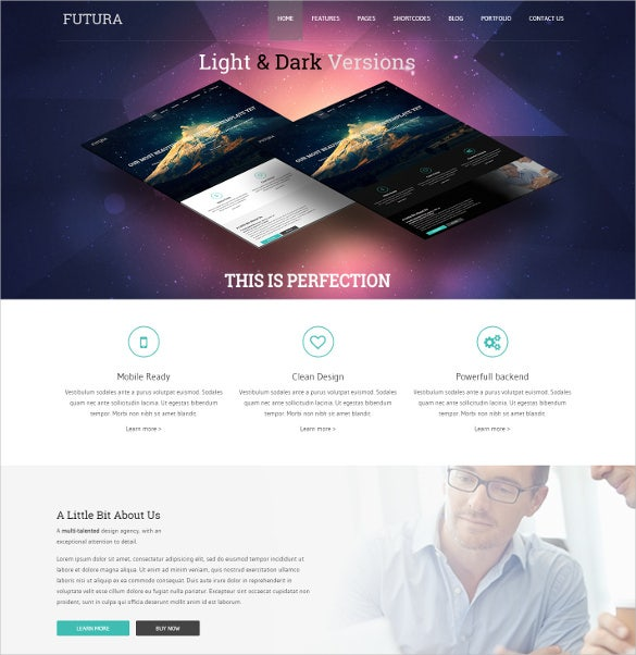 multipurpose creative drupal blogging theme