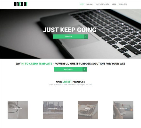 business creative drupal template1