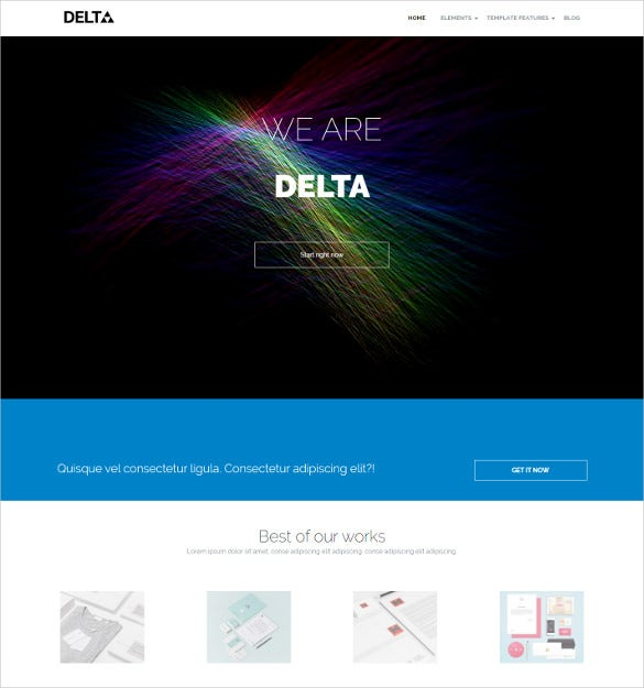 colorful creative business drupal theme