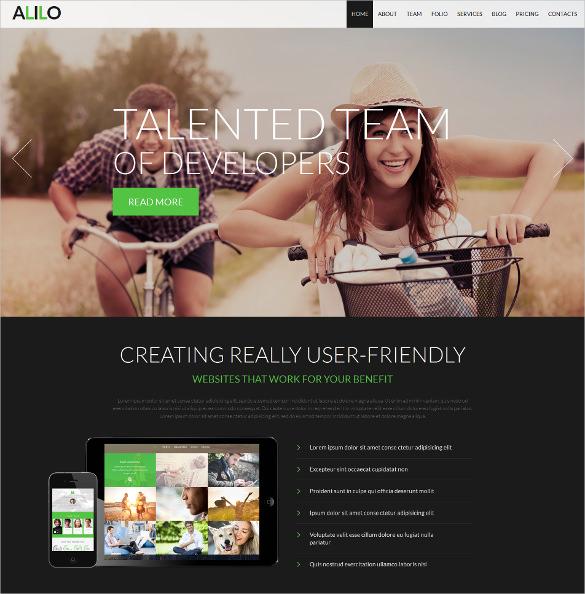 creative design studio joomla blog theme
