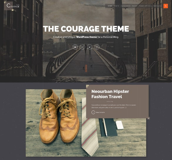 instagram wordpress creative blog theme