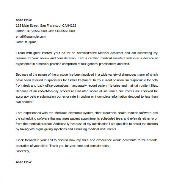 General Cover Letter. General Cover Letter Templates Free Sample ...
