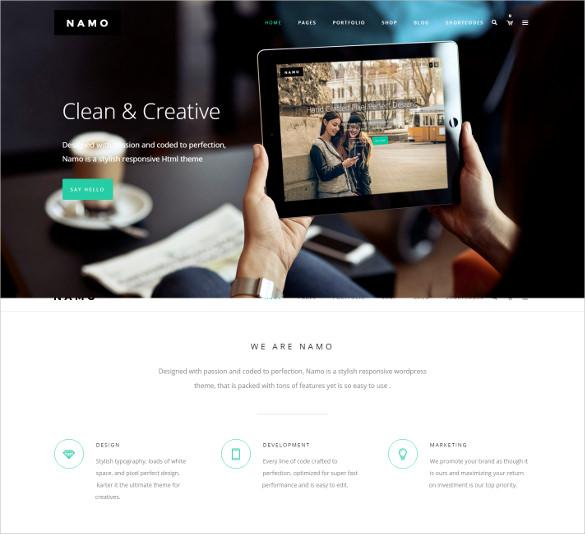 creative multi purpose html5 theme