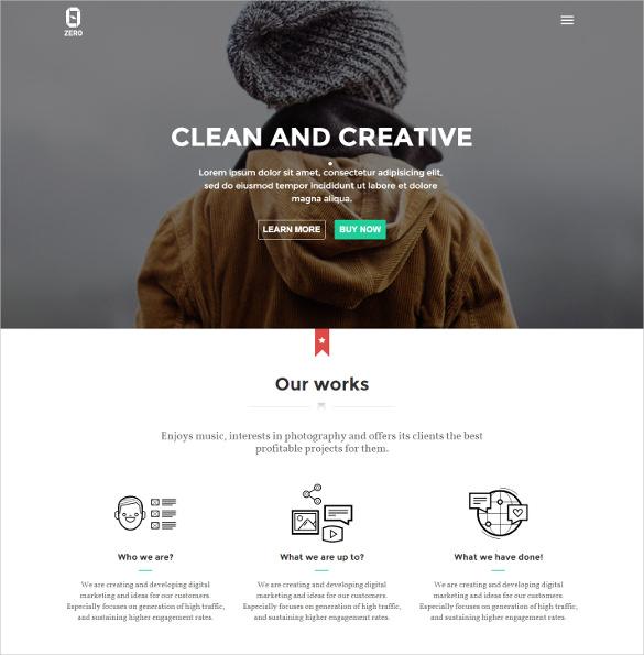 html5 digital creative agency wordpress theme