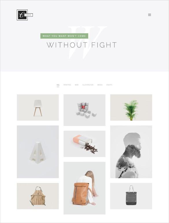 creative agency portfolio html5 theme