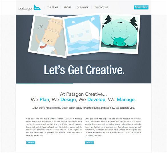 single multi page html5 theme