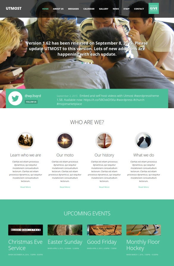 multimedia charity wordpress theme1