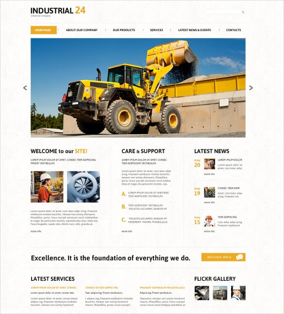 creative industrial joomla bootstrap template