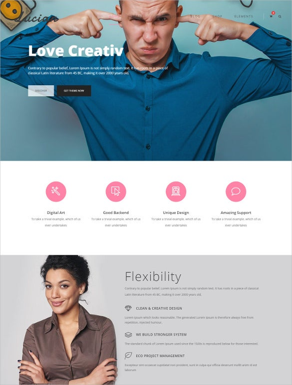 multiconcept wordpress bootstrap theme