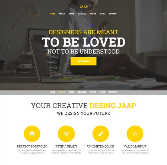 creative multipurpose wordpress bootstrap theme