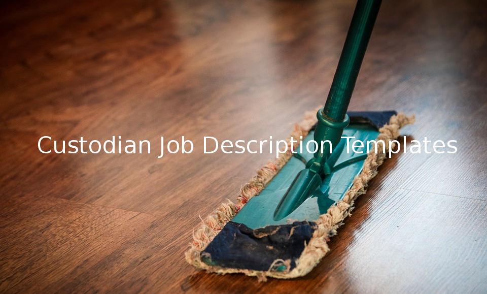 custodianjobdescriptiontemplate