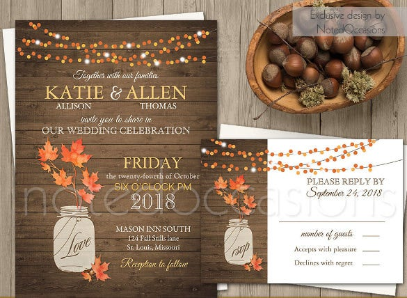 pdf fall leaves wedding invitation6