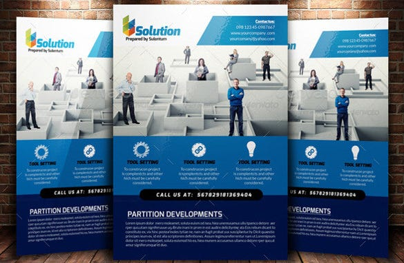 43 + A4 Flyers - PSD, AI, Word, Vector EPS Format Download