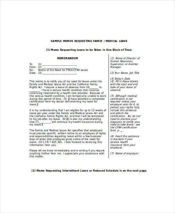 Medical Leave Letter - 6+ Free Word, Excel, PDF Documents Download ...