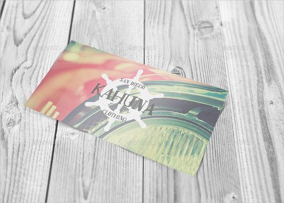 panoramic postcard mockup design