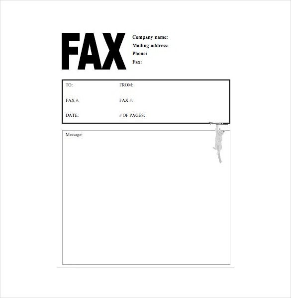 A Cat Fax Cover Letter Is A Subtle Yet Effective Way To Put Forth Your  Content With A Slight Sprinkle Of Humor. You Can Select From Various Cool  Designs To ...  Create A Cover Letter Free