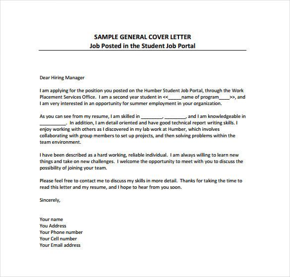 Cover Letter Pdf Form Plks Tk