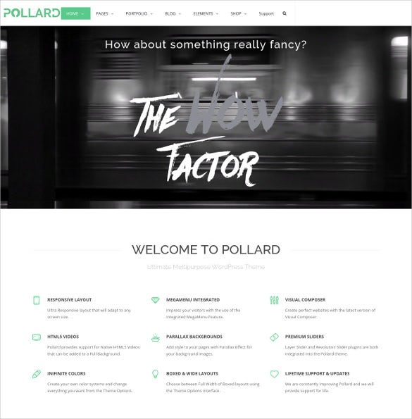 pollard multipurpose wordpress theme