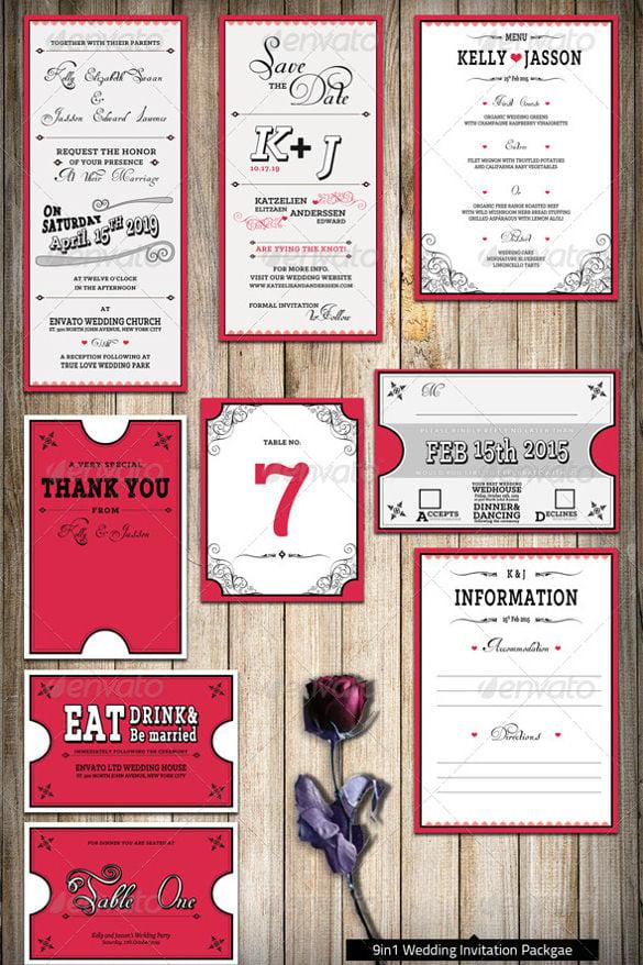 17 Wedding Reception Invitation Templates