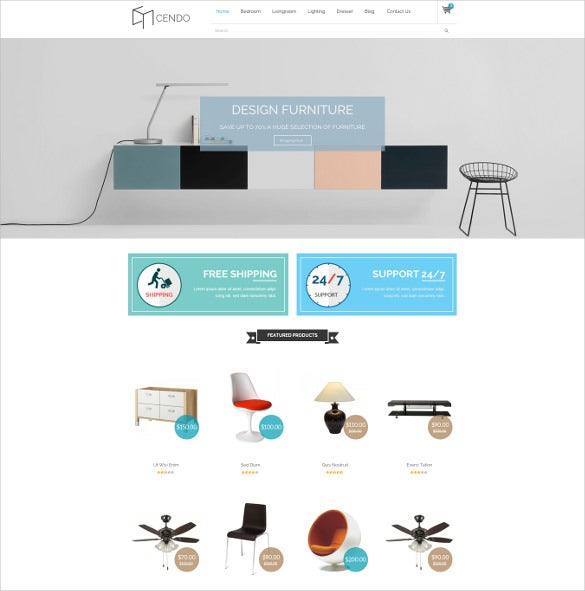 cendo responsive opencart furniture ecommerce theme
