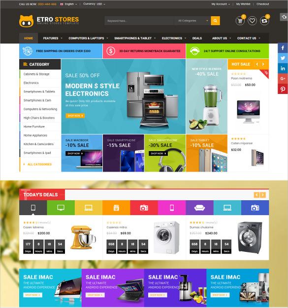 etrostore multipurpose responsive magento ecommerce theme