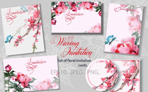 15 wedding reception invitation templates free psd jpg word